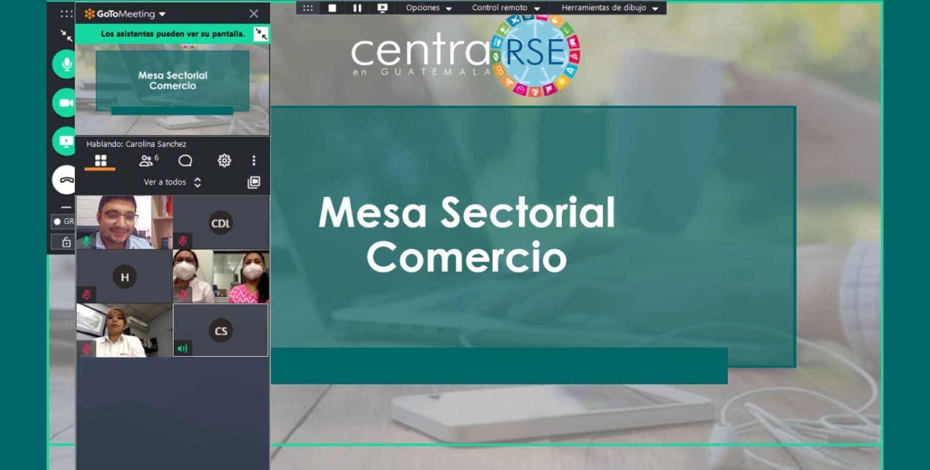 Primera Mesa Sectorial de Comercio