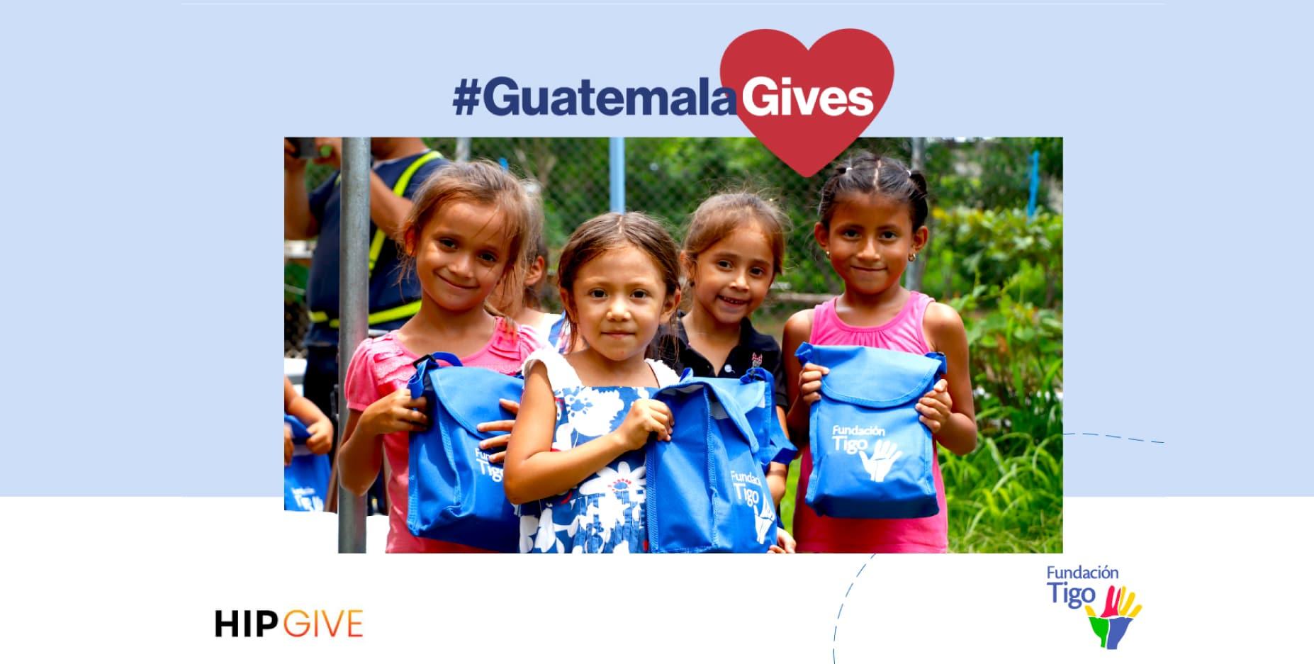 Por quinto año consecutivo, Fundación TIGO promueve #Guatemalagives