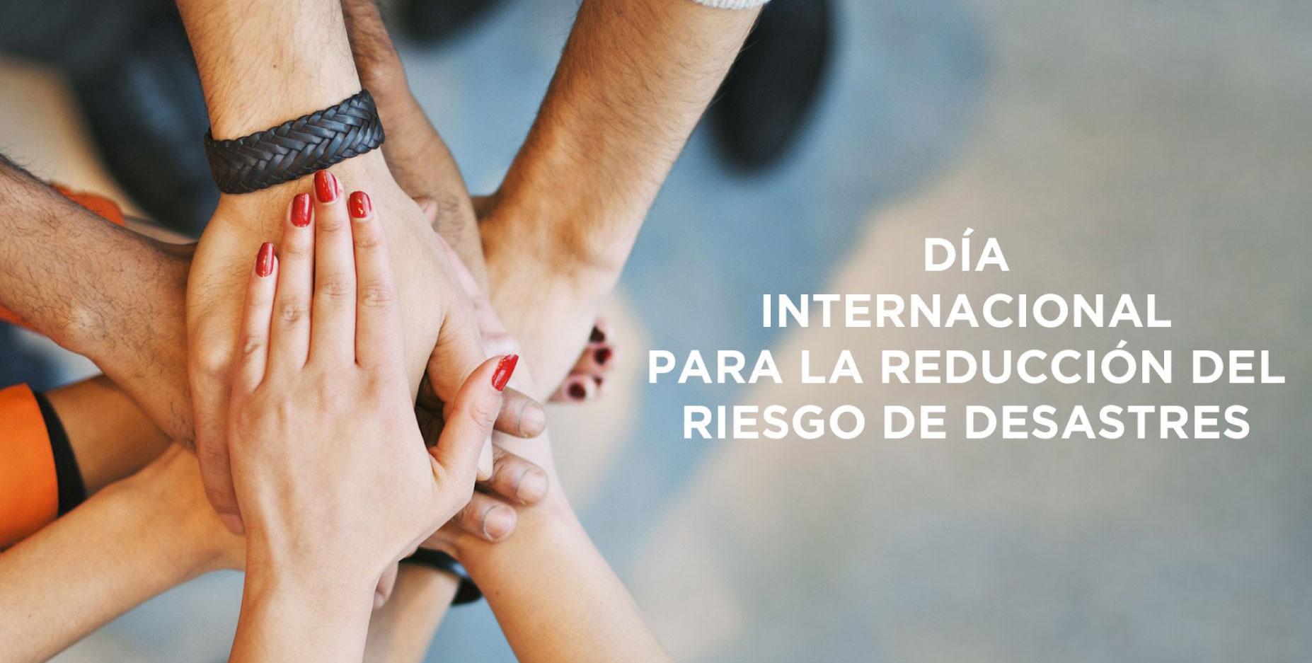 Día internacional de Reducción de Riesgos a Desastres