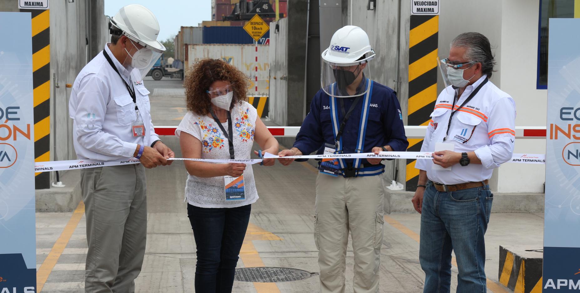 APM Terminals Quetzal instala dos equipos de inspección no intrusiva para garantizar seguridad portuaria