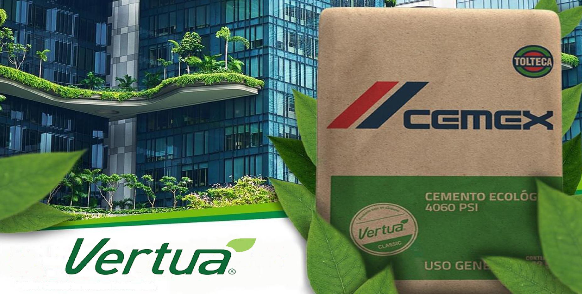 CEMEX Guatemala anuncia que su Cemento de Uso General identificado con Sello Vertua tendrá emisiones reducidas de CO2