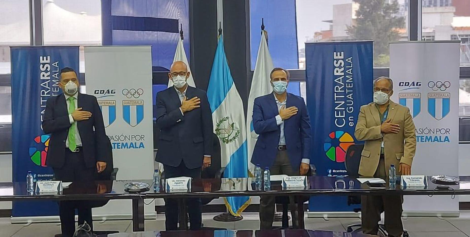 CENTRARSE, CDAG y COG firman convenio de desarrollo a través del deporte