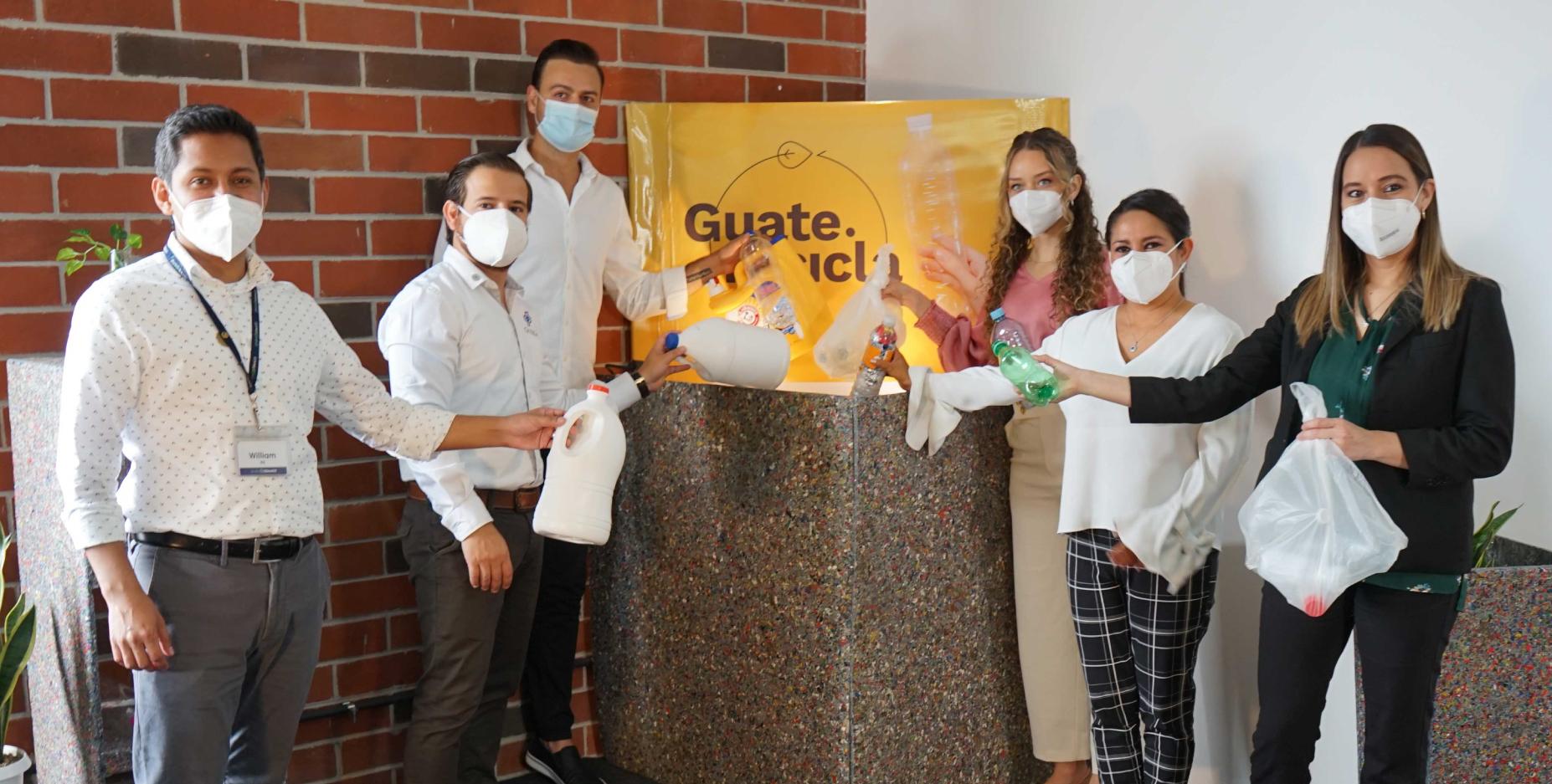 RECICLEMOS.GT y aliados convocan a los guatemaltecos a reciclar plástico por medio de campaña GUATE RECICLA