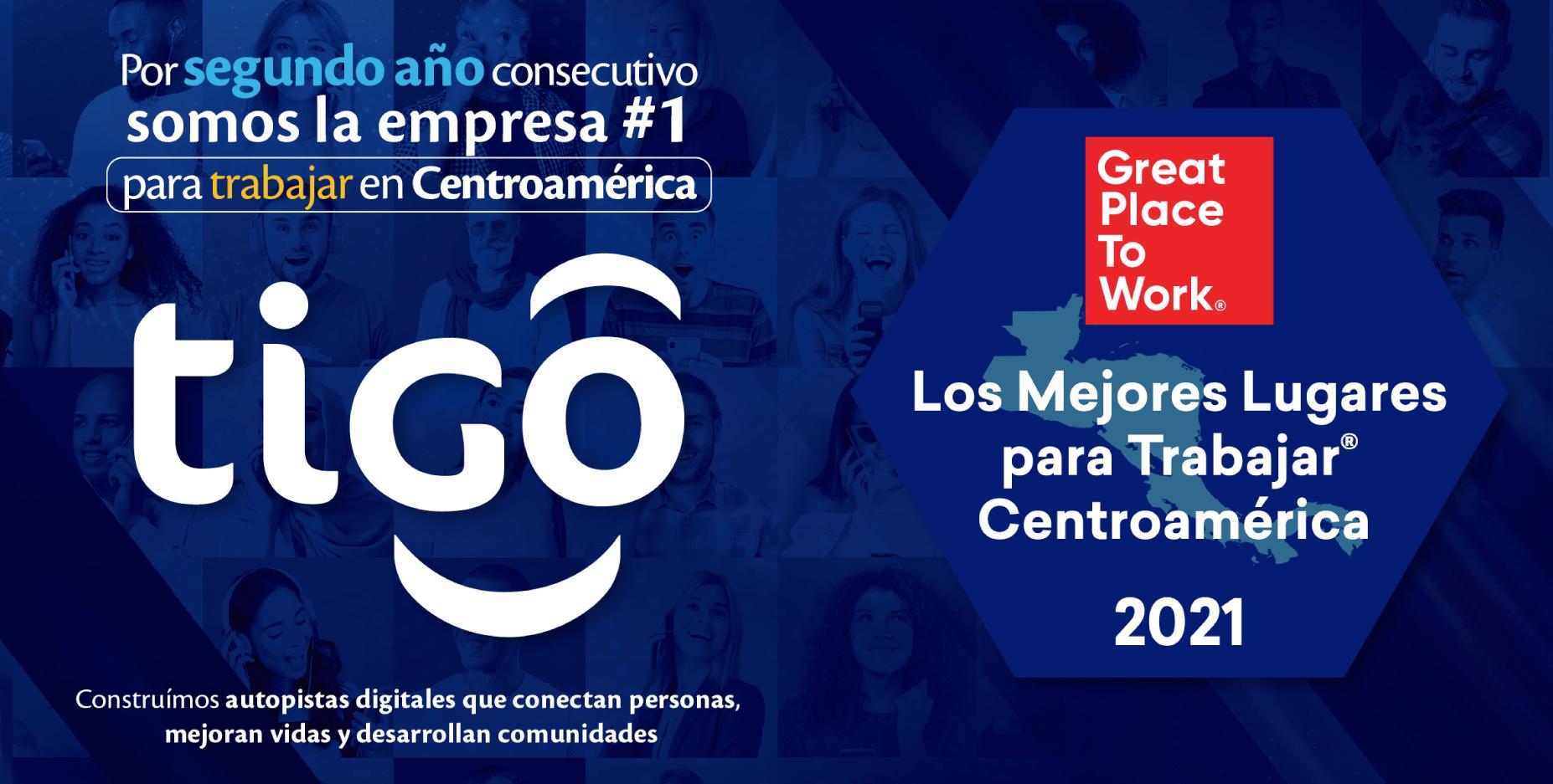 Tigo, empresa #1 para trabajar en Centroamérica