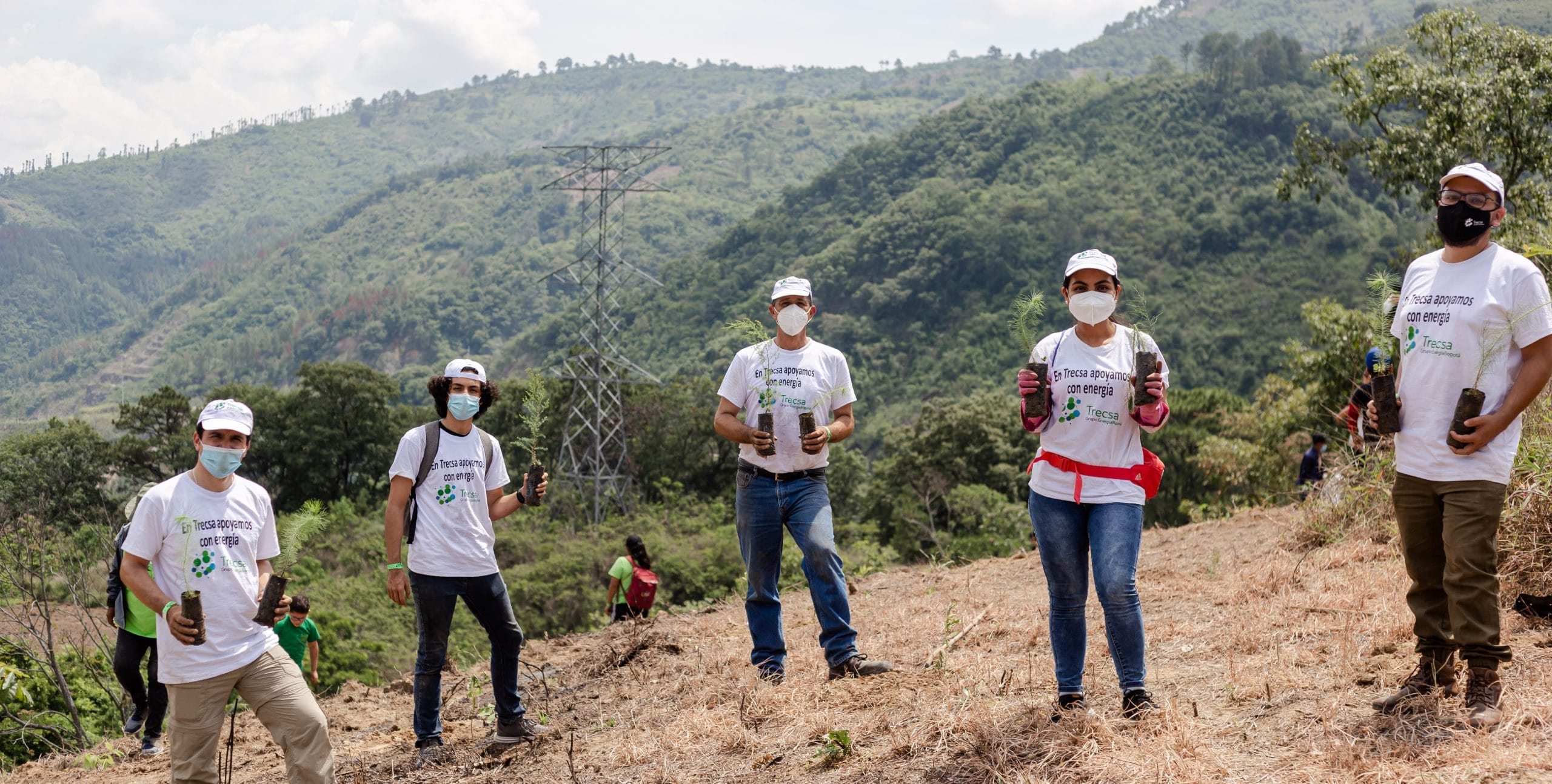 Trecsa se une a la primera Plantatón 2021 en Guatemala