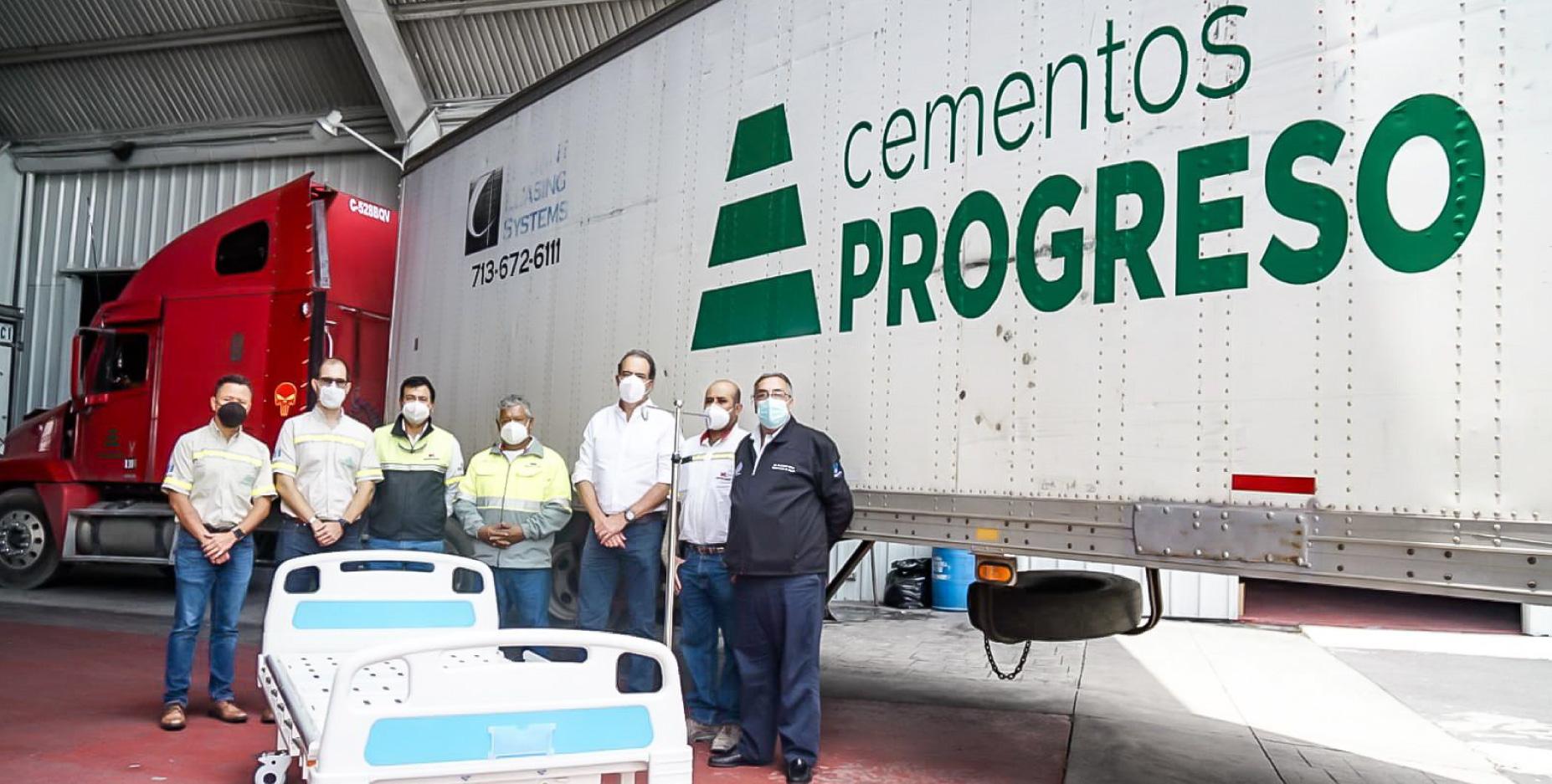 Empresas 100% guatemaltecas donan 150 camas de hospital para atender pacientes positivos de COVID-19