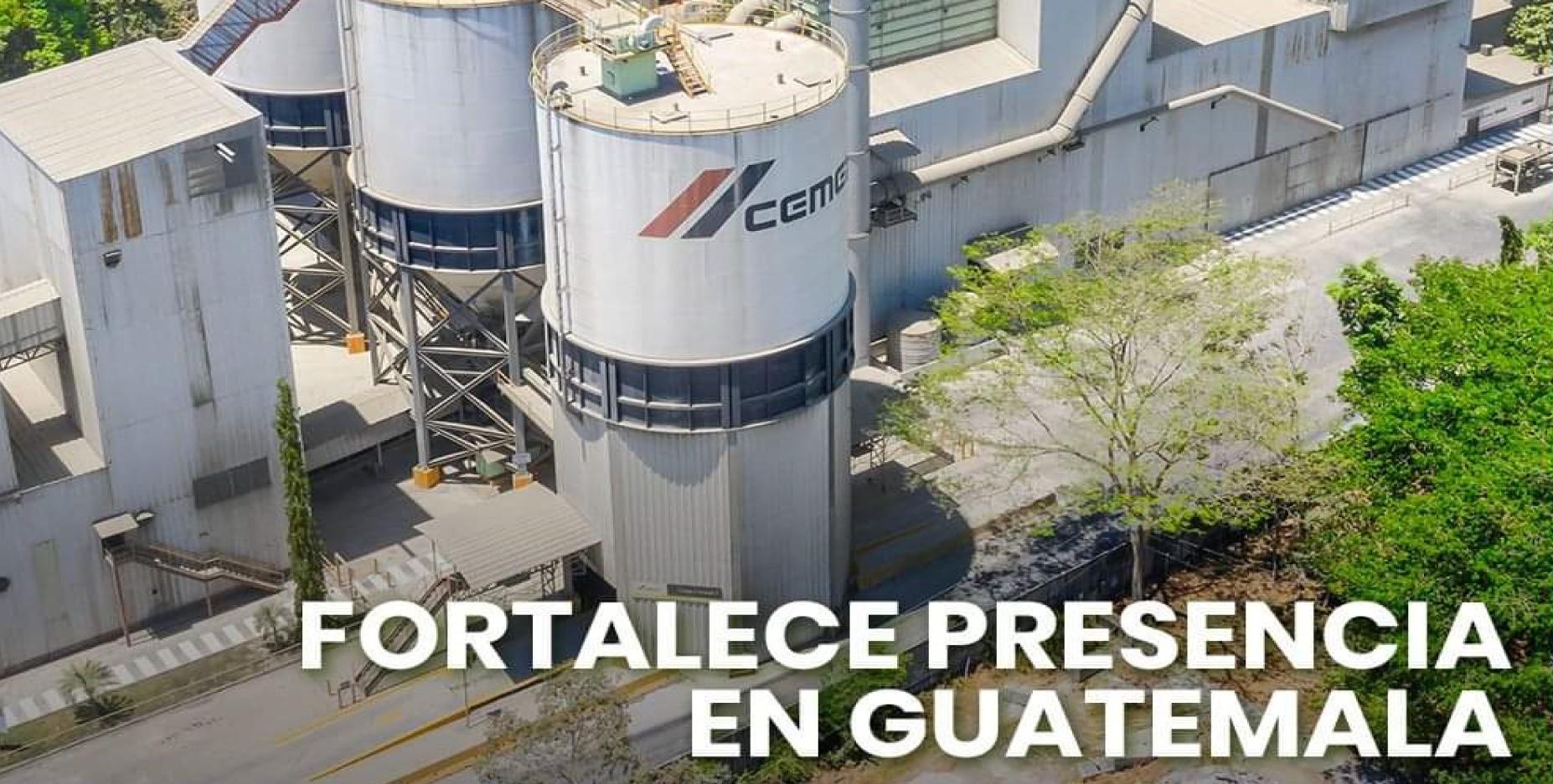 Cemex fortalece presencia en Guatemala
